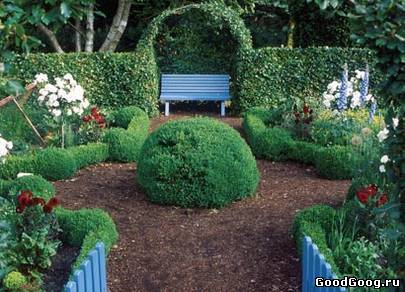 Дизайн дачного огорода